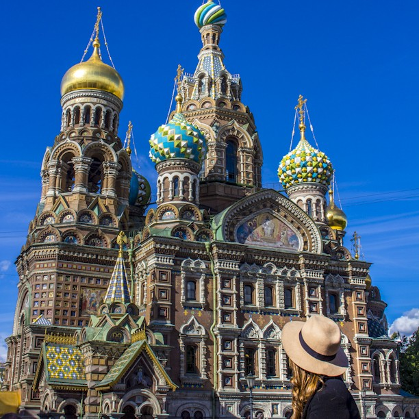 Church of our Saviour Split on Blood St Petersburg Russia Topdeck Solo Travel