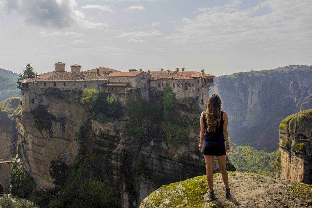 Meteora Monastries Greece Solo Travel