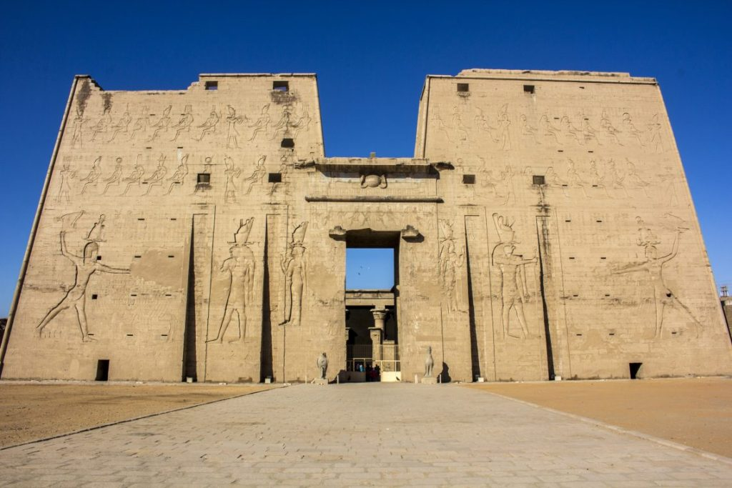 Edfu Temple Aswan Travel Talk Tours Egypt Solo Female Travel Jewels of the Nile Tour
