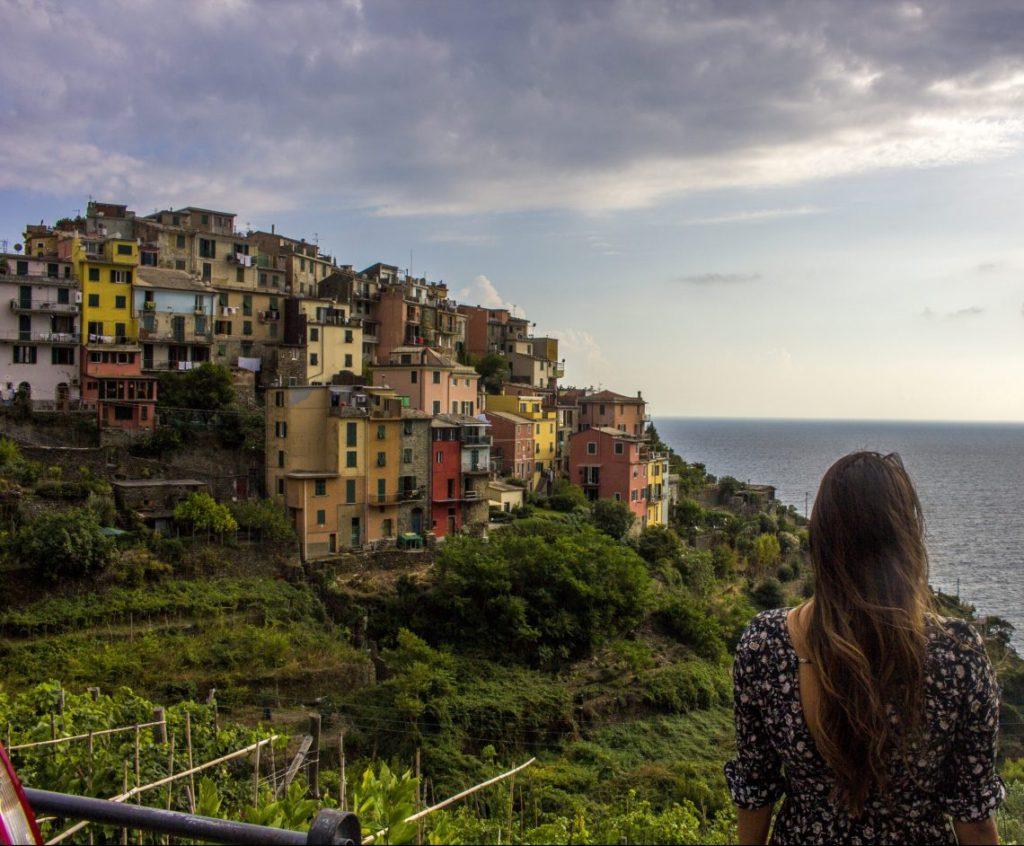 Corniglia Italy Cinque Terre Solo Female travel blog itinerary guide Busabout