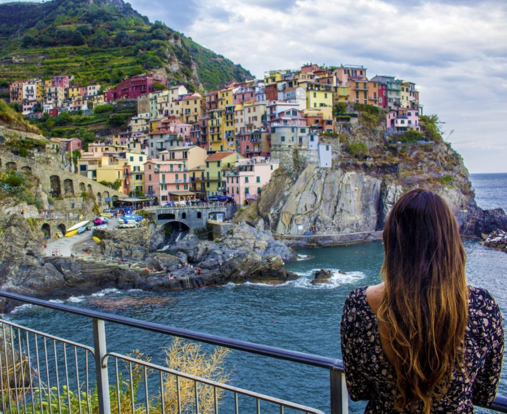 Manarola Italy Cinque Terre Solo Female travel blog itinerary guide Busabout travel must do's must see's