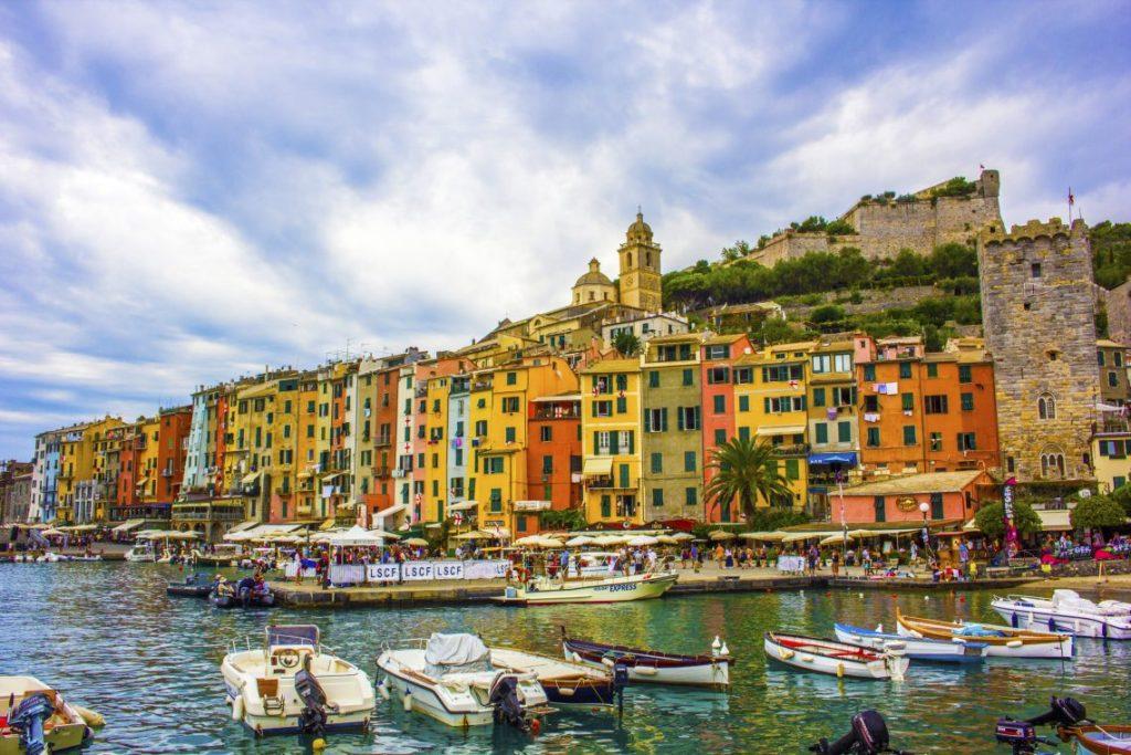 Portovenere Cinque Terre Italy Busbaout Solo Female travel