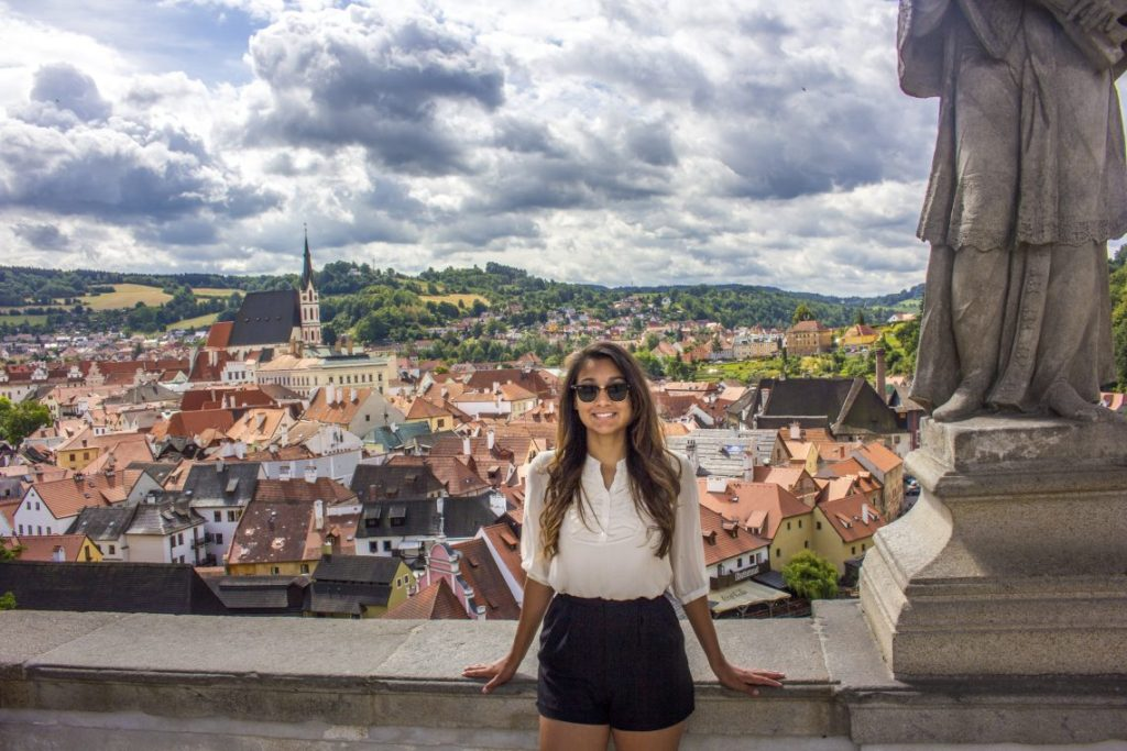 Cesky Krumlov fairytale town solo female travel Czech Republic Busabout Suitcase And I 3