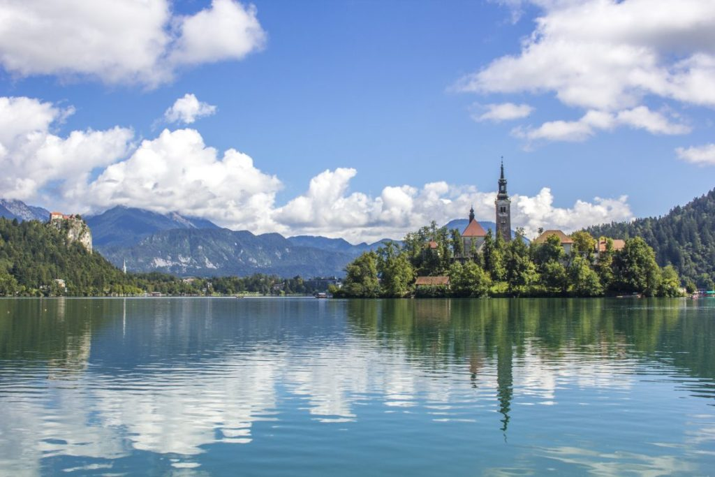 Pilgrimage Church of the Assumption of Maria, Lake Bled, Bled Castle, Slovenia, Solo Female travel, Busabout, Suitcase And I 1