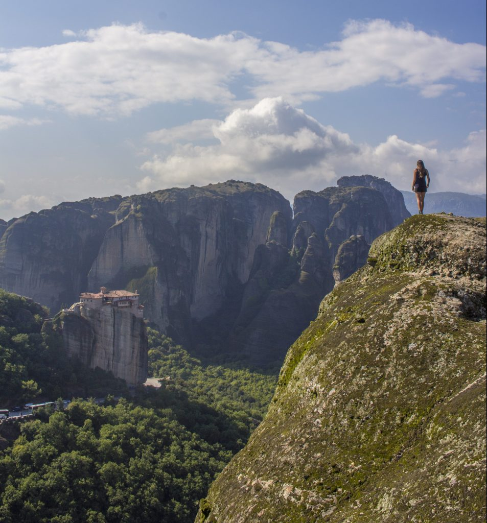 Solo Female Travel Meteora Monastries Greece Monastery of Great Meteoron The Monastery of Varlaam The Monastery of Rousanou:St. Barbara The Monastery of the Holy Trinity 8