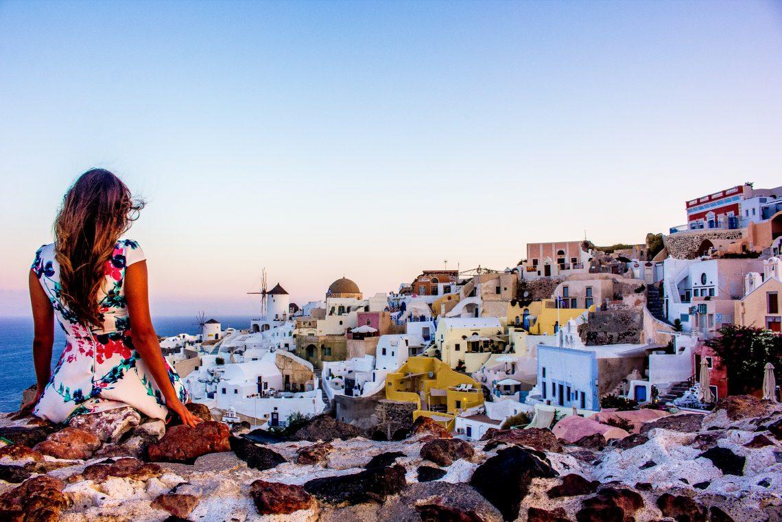 Cooking Island The Best Sunrise In The World Santorini Greece
